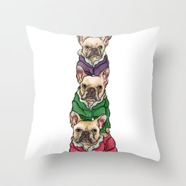 Lilly, Nikko, Mae Ling Throw Pillow