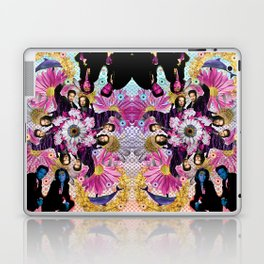alien hunters from the flower planet Laptop & iPad Skin