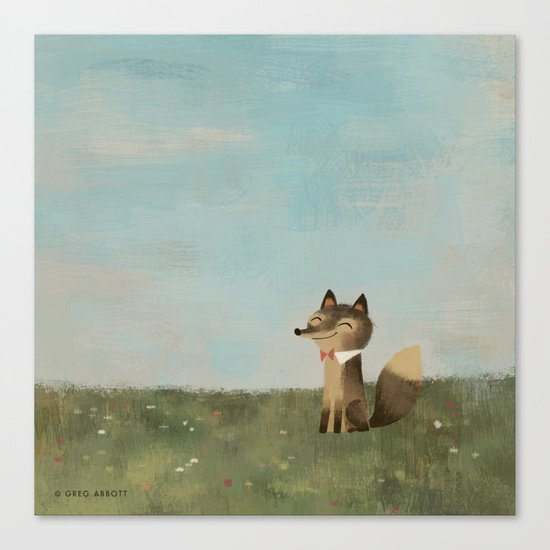 Field Fox Canvas Print