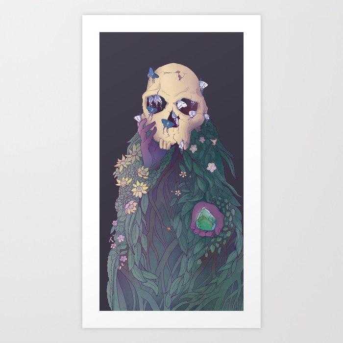 Ancestor Series- Habilis with Biface Art Print
