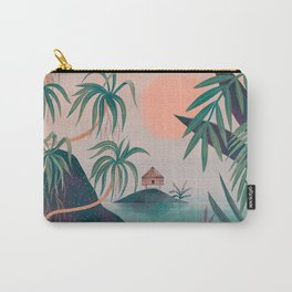 Paradise Cottage Carry-All Pouch