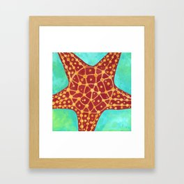 Starfish #2 Framed Art Print