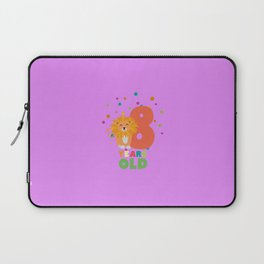 Eight Years 8th Birthday Party Lion T-Shirt Dgwku Laptop Sleeve