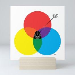 """Dark Side - Darth Vader"" by ilovedoodle Mini Art Print"