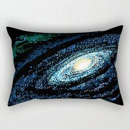 SWIRLING GALAXY Rectangular Pillow
