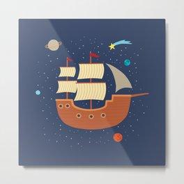 space-ship Metal Print