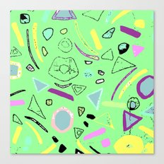 80's pattern  Canvas Print
