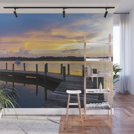 September Sunset Wall Mural