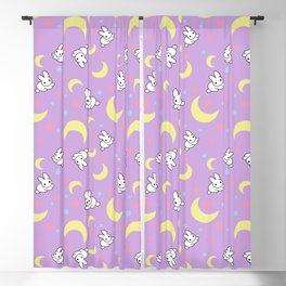 Moody Rabbits Blackout Curtain