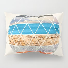 Eco Geodesic  Pillow Sham