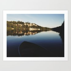 Lake Minnewaska Art Print