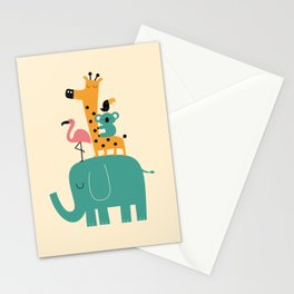 Moving on Stationery Cards