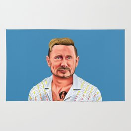 Hipstory -  vladimir putin Rug