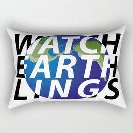 watch earthlings Rectangular Pillow