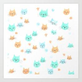 CATS. CATS. CATS! Art Print