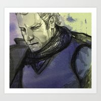 danny ivan Art Prints featuring Danny by queenchester