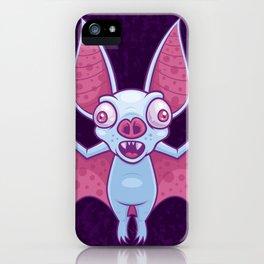 Albino Vampire Bat iPhone Case