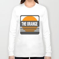 metal gear solid Long Sleeve T-shirts featuring Metal Gear Solid: The Orange by koukiburra