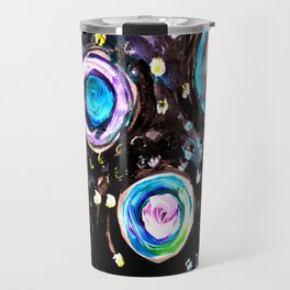 Color Swirl Travel Mug