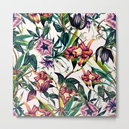 Bloom colorful garden vintage Metal Print