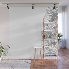 Sleeve white Wall Mural
