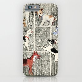 Bark-ing in the Dictionary iPhone Case