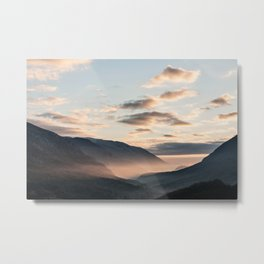 Park of Abruzzo at sunrise Metal Print