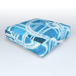 Geared Up ( Big Blue) Outdoor Floor Cushion