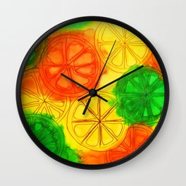 Citrus blend Wall Clock