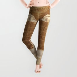 Sand Castle Inside Leggings