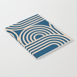 Abstraction_WAVE_GRAPHIC_VISUAL_ART_Minimalism_001 Notebook