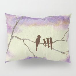 A Mothers Blessings, Birds in Tree Pillow Sham