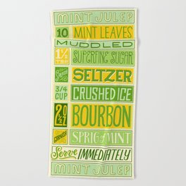 Mint Julep Beach Towel
