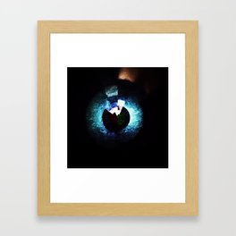 Abstract #12 (Arcs & Vectors Series) Framed Art Print