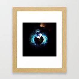 Abstract #12 (Arcs & Vectors Series) Framed Art Print