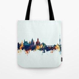 Dresden Germany Skyline Tote Bag