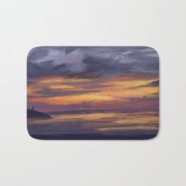 Belle cote sunset Bath Mat