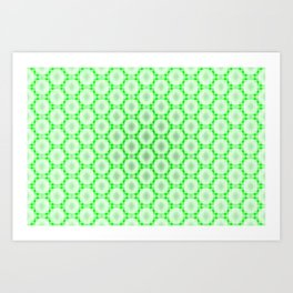 The visible net  3 Art Print