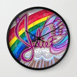 Juliet Unicorn Wall Clock