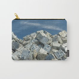 Aluminium Cubes with blue sky Carry-All Pouch