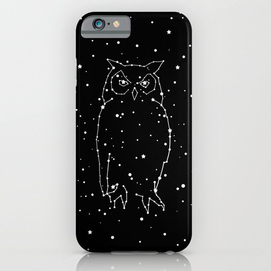 Owl Constellation  iPhone & iPod Case