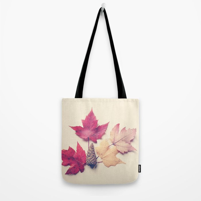 Red Maple Leaf Collection Tote Bag
