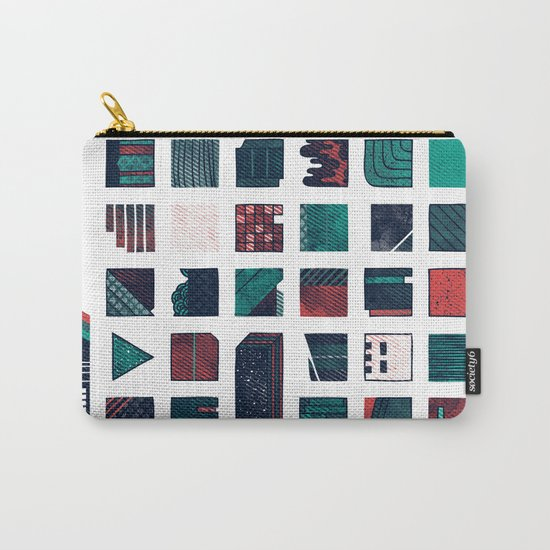 Swatches Carry-All Pouch