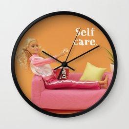 Real self care Wall Clock