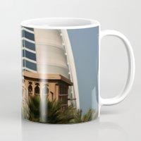 arab Mugs featuring Dubai - Burj Al Arab by gdesai