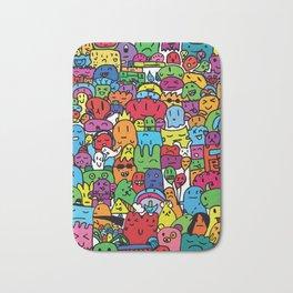 Monster World Bath Mat