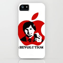 STEVE JOBS iRevolution (in aid of Cancer Research) iPhone Case