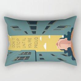 [Quotes] Proud Rectangular Pillow