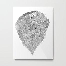 Lucky Rabbit's Foot Metal Print