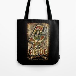 AC/DC angus young Tote Bag